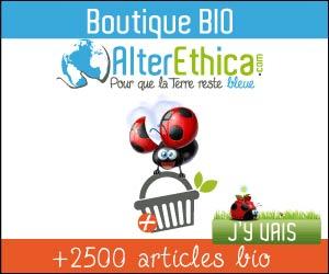 Alterethica : produits écolo, bio, recyclés et fabriqués majoritairement en France