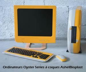 Ordinateurs Oyster Series à coques AshelBioplast