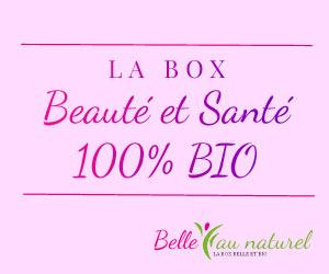 Belle au Naturel : la Box beauté et santé 100% bio