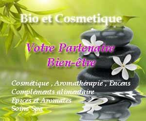 Bio et Cosmétique : cosmétiques, huiles essentielles et compléments alimentaires bio