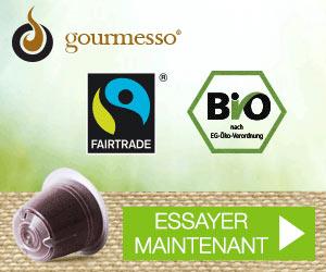 Gourmesso : capsules de café équitable et bio