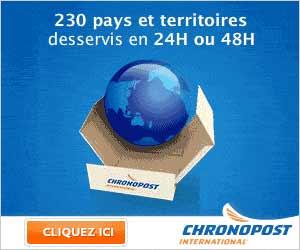 Envois ChronoPost International et Xpress