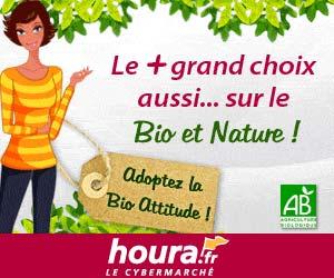 Le cybermarché Houra.fr : vaste choix de produits Bio