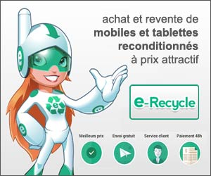 e-Recycle : smartphones reconditionnés