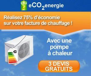 eCO2energie : 3 devis gratuits de pompe à chaleur