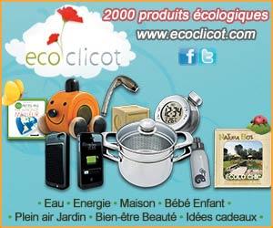 Ecoclicot.com - boutique de produits écologiques et bio