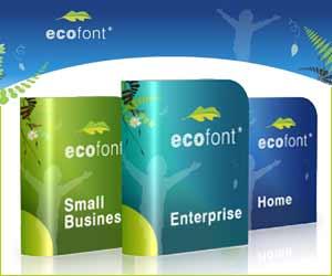 ECOfont - La police de caractère écolo