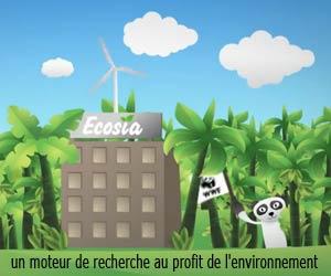 Ecosia - Un moteur de recherche au profit de l'environnement