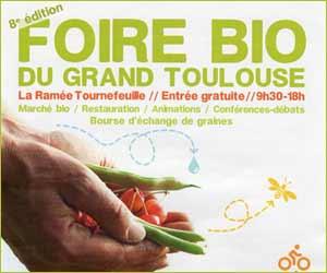 Foire Bio du Grand Toulouse : 8ème édition du 20 octobre 2013