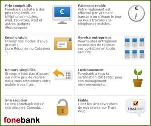 FoneBank - Rachat de mobiles