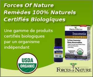 Forces Of Nature - Remèdes certifiés Biologiques