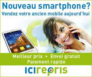 ICIRepris : reprise de téléphones mobiles, tablettes et iPod