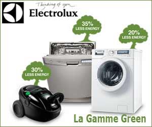 La gamme Green d'Electrolux