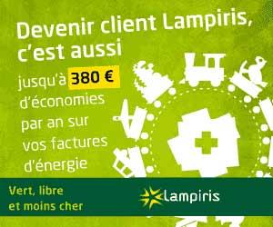 Lampiris - L'électricité 100% verte en Belgique
