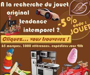 Les Jouets en Bois : plus de 3000 références fabriquées en France