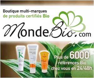 MondeBio - Plus de 230 marques bio certifiées