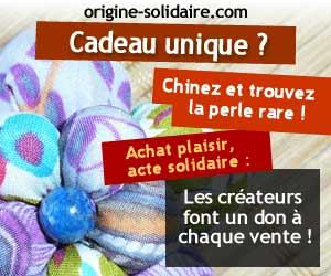 Origine Solidaire : Expo-vente de créations et objets fait main