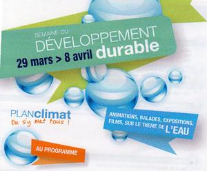 Semaine du Développement Durable à Toulouse du 29 mars au 8 avril 2012