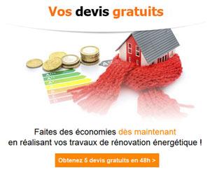 Travaux de rénovation énergétique : 5 devis gratuits en 48h