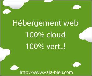Vala Bleu - Hébergeur Web écologique