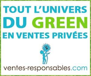 Ventes Responsables : produits écologiques, équitables et bio en ventes privées