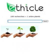 ethicle - 100 recherches = 1 arbre planté