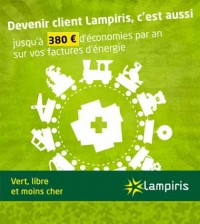 Lampiris - électricité 100% verte en Belgique