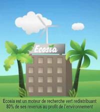 Ecosia - Le moteur de recherche vert qui redistribue ses revenus