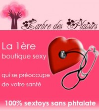 L'Arbre des plaisirs - La première boutique sexy qui se préoccupe de votre santé