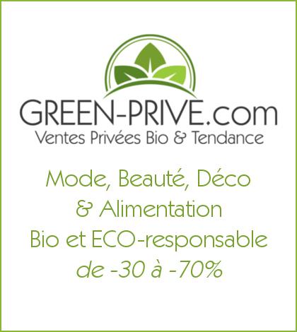 Green Privé : Le site de ventes privées Bio & Tendance