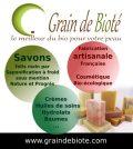 Grain de Bioté : Cosmétiques naturels bio de fabrication artisanale