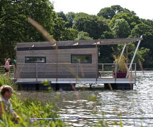 Maisons flottante chez Aquashell France