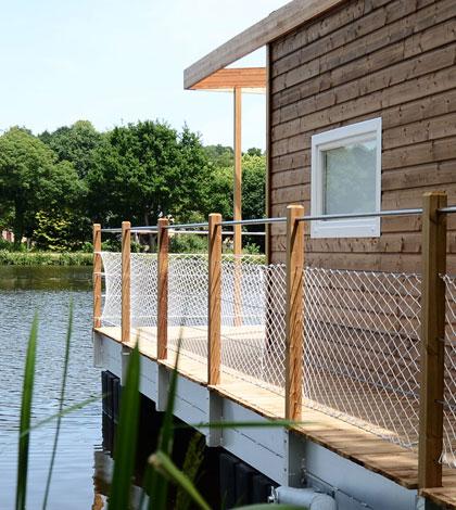 Maison flottante Aquashell