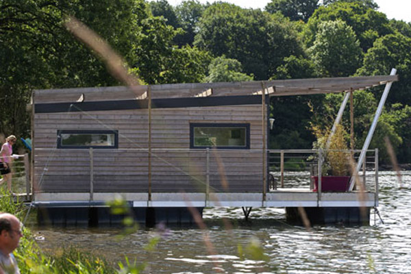 La maison flottante - Habitat de demain